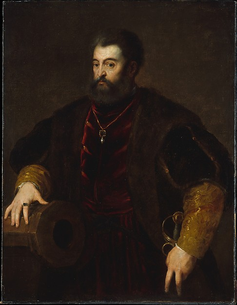 Alfonso d'Este (1486–1534), Duke of Ferrara, Copy after Titian (late 16th or early 17th century), Oil on canvas