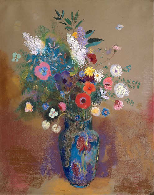Odilon Redon | Bouquet of Flowers | The Met