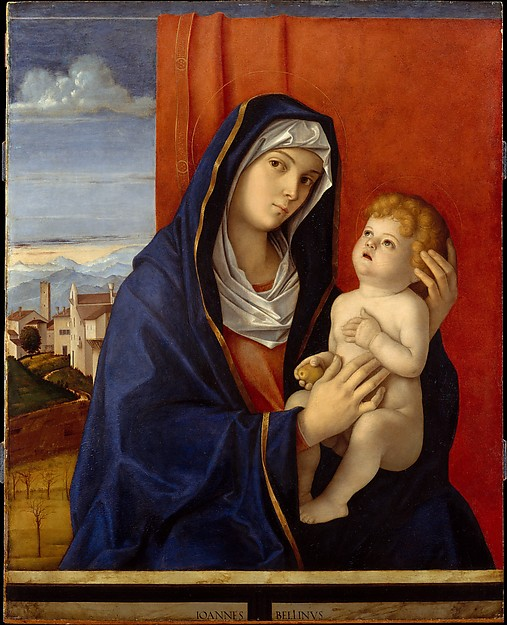 Madonna and Child, Giovanni Bellini (Italian, Venice, active by 1459–died 1516 Venice), Oil on wood