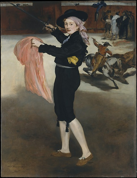 Mademoiselle V. . . in the Costume of an Espada, Édouard Manet (French, Paris 1832–1883 Paris), Oil on canvas