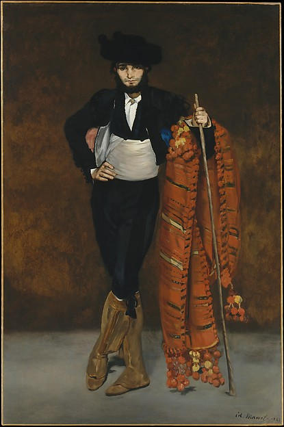 Young Man in the Costume of a Majo, Édouard Manet (French, Paris 1832–1883 Paris), Oil on canvas