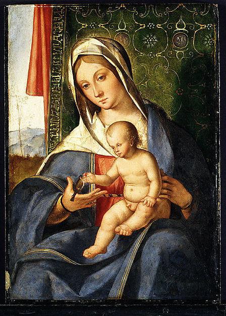 Madonna and Child, Boccaccio Boccaccino (Italian, Ferrara, before 1466–1524/25 Cremona), Oil on wood