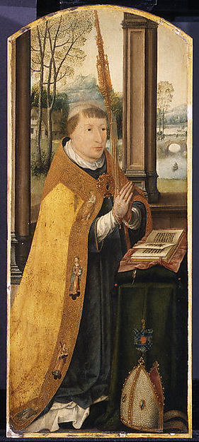 Charles Coguin, Abbot of Anchin, Jean Bellegambe (French, Douai ca. 1470–1535/36 Douai), Oil on wood