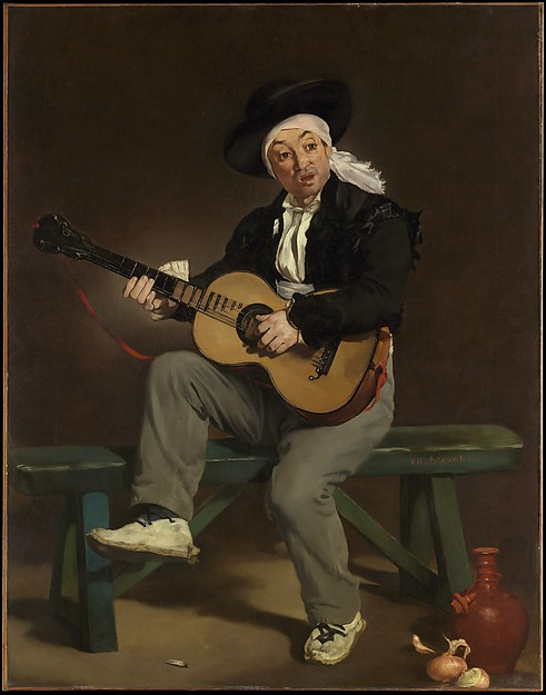 The Spanish Singer, Édouard Manet (French, Paris 1832–1883 Paris), Oil on canvas