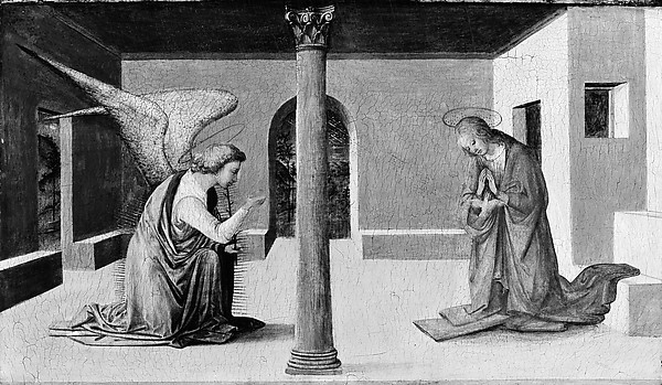 The Annunciation, Workshop of Fra Filippo Lippi (Italian, Florence ca. 1406–