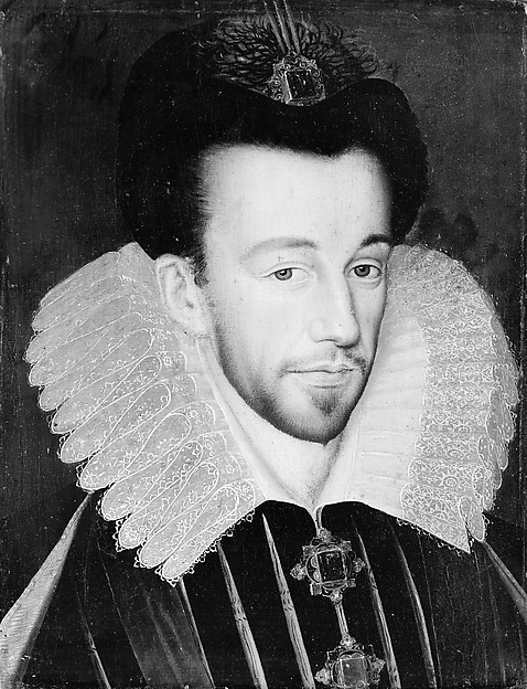 Henri III (1551–1589), King of France, French Painter (late 16th century), Oil on wood