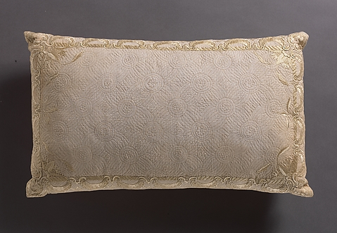 Pillow in Shape of Reclining Woman