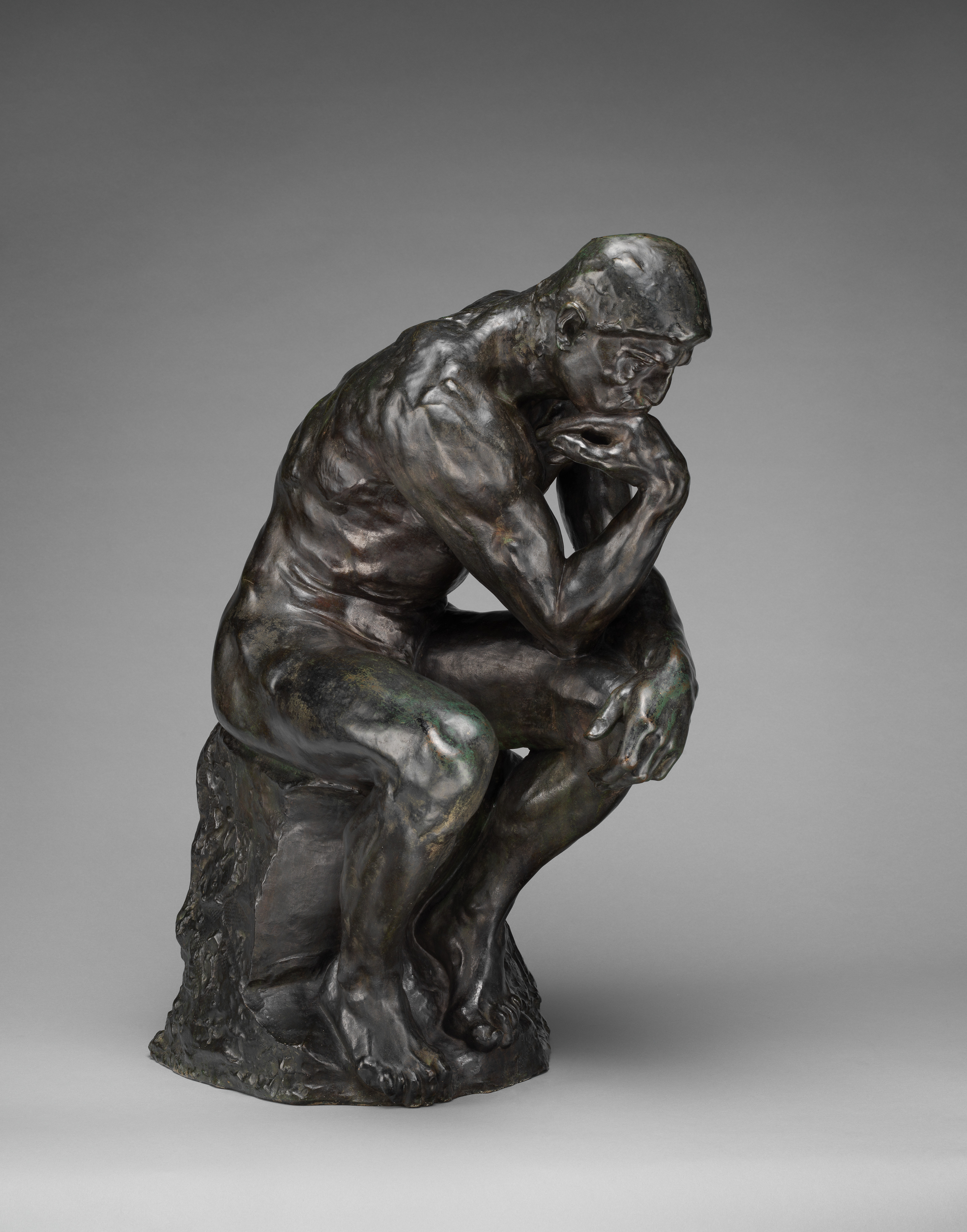 Thinker >> Auguste Rodin The Thinker French The Met