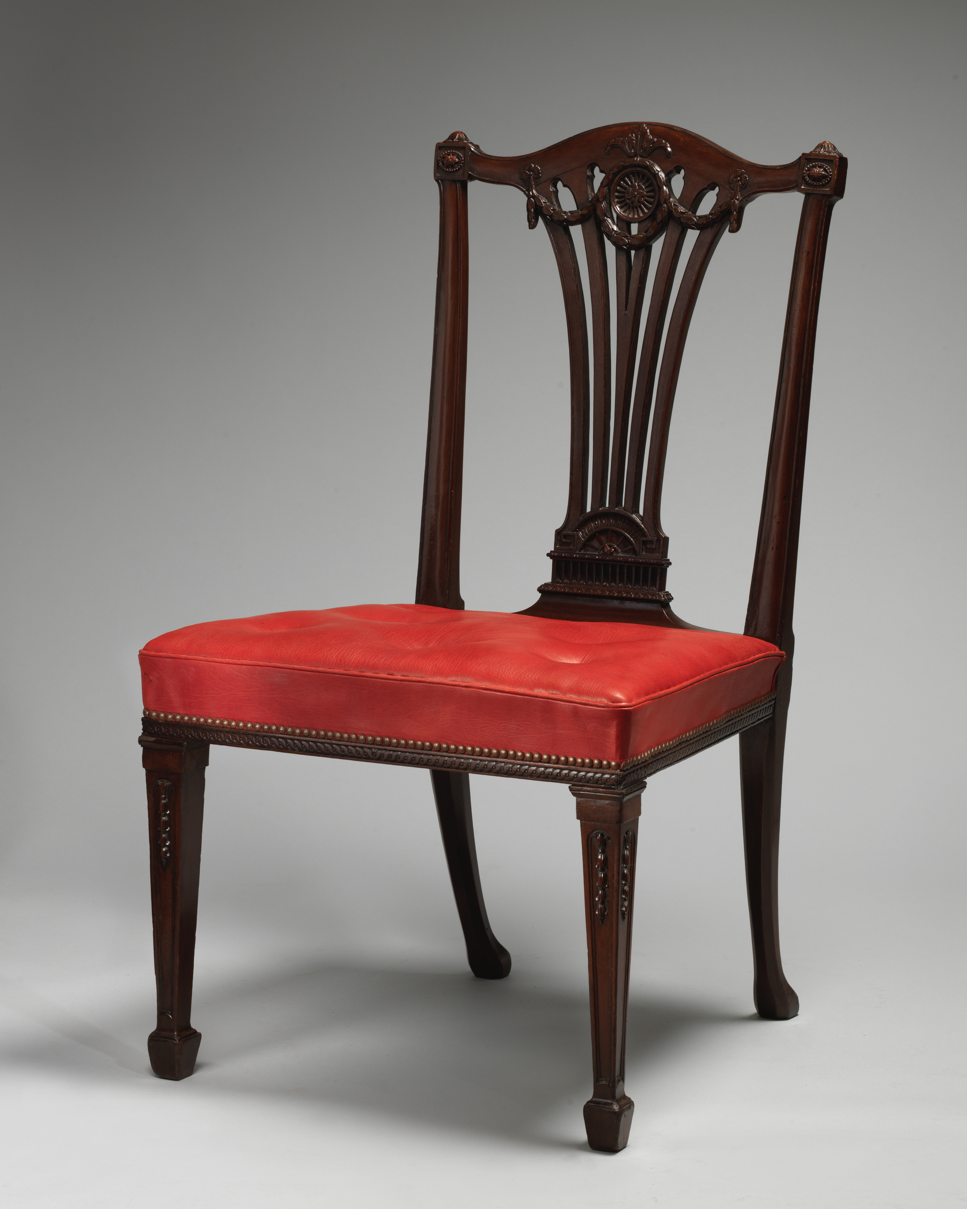 Thomas Chippendale Set Of Fourteen Side Chairs British