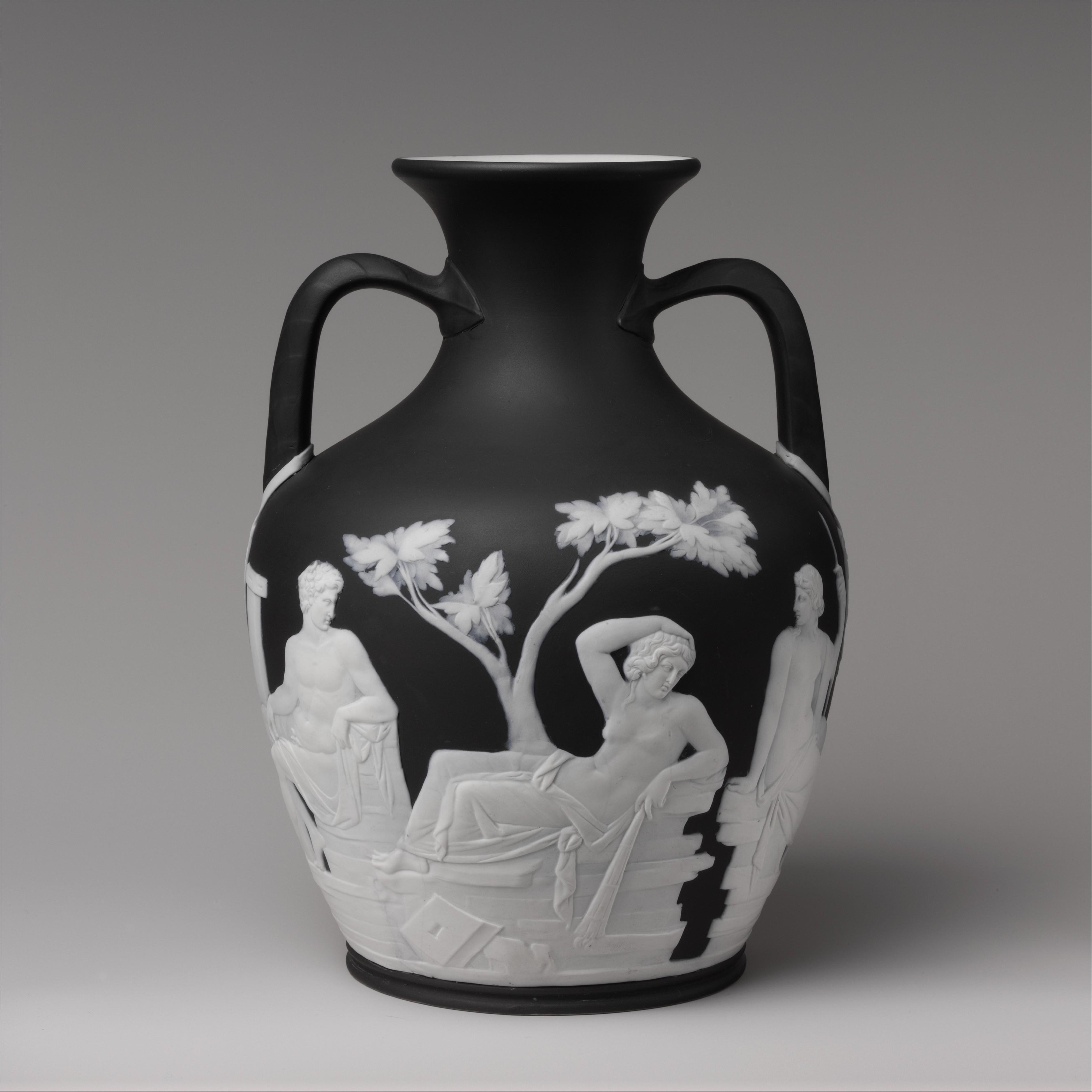 Josiah Wedgwood And Sons Portland Vase British