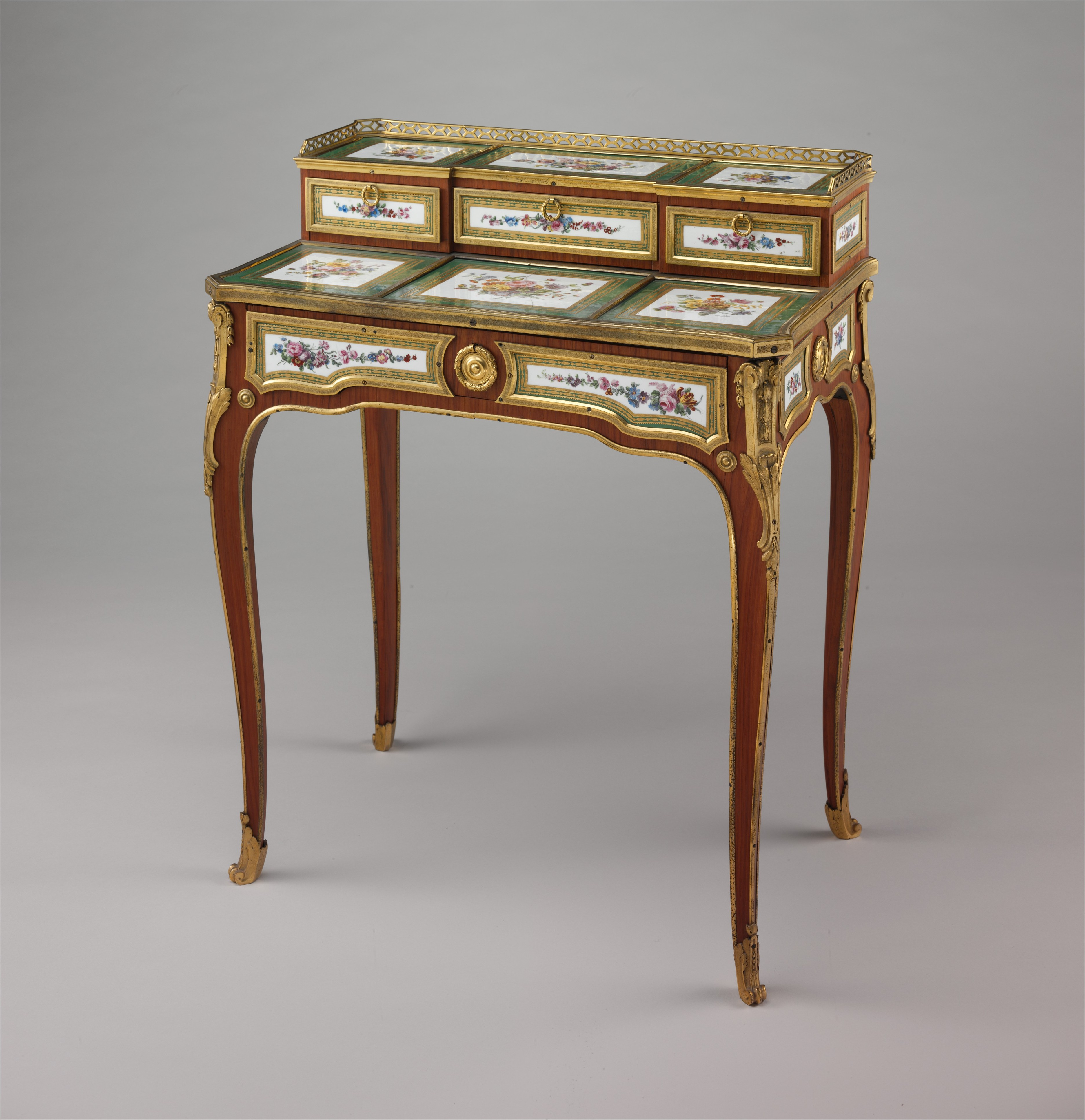 Gilles Joubert Writing table bureau plat French Paris The Met