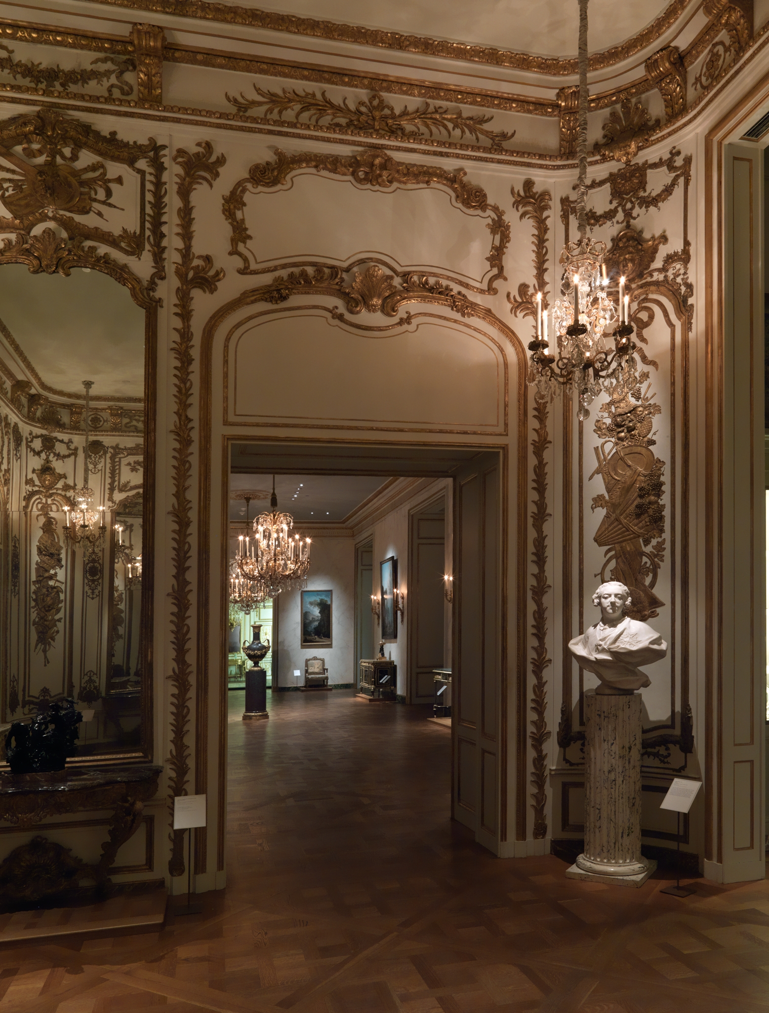 Attributed To Jean Fran 231 Ois Roumier The Louis Xv Room