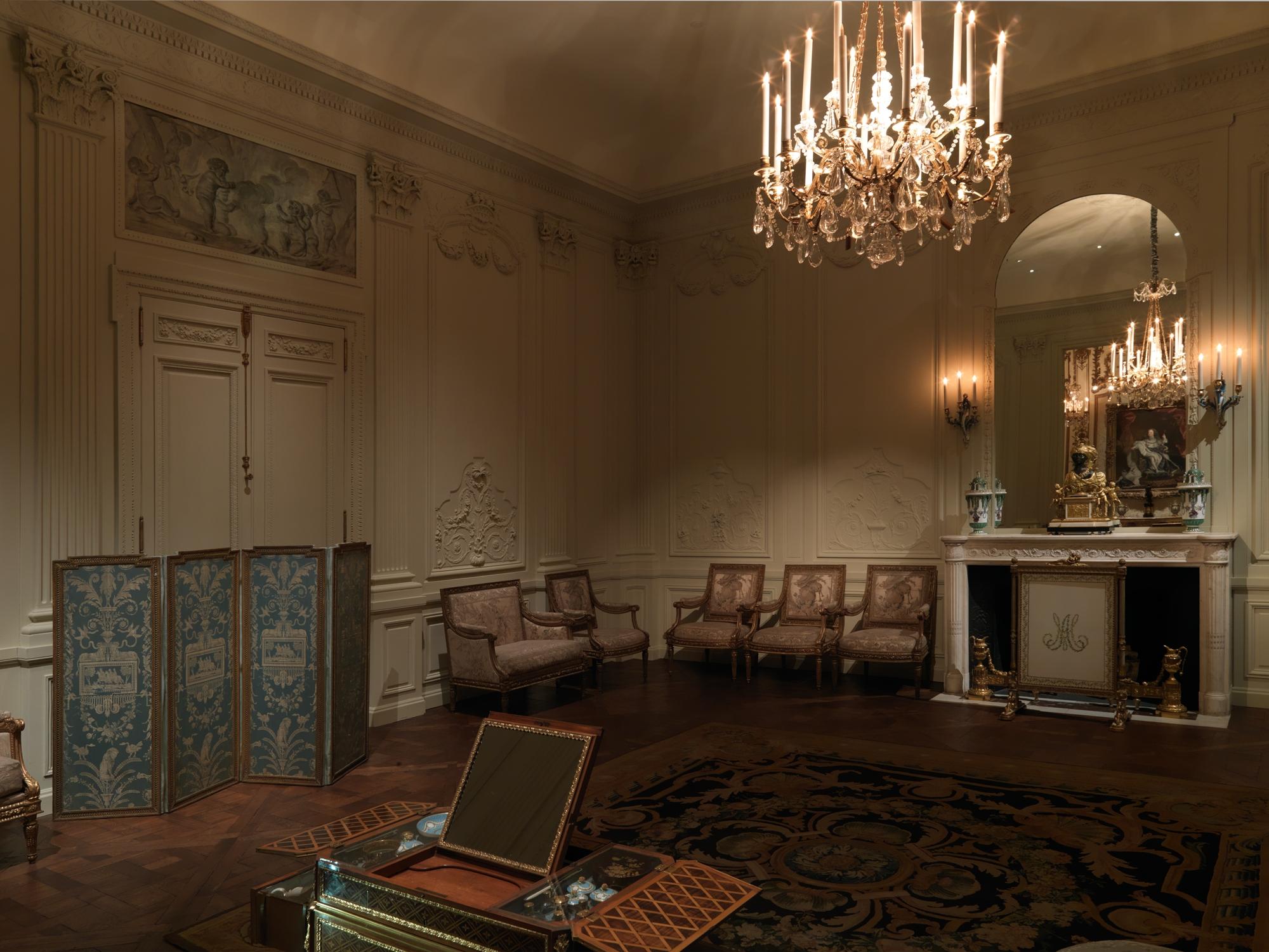 Boiserie From The H 244 Tel Lauzun French Paris The Met