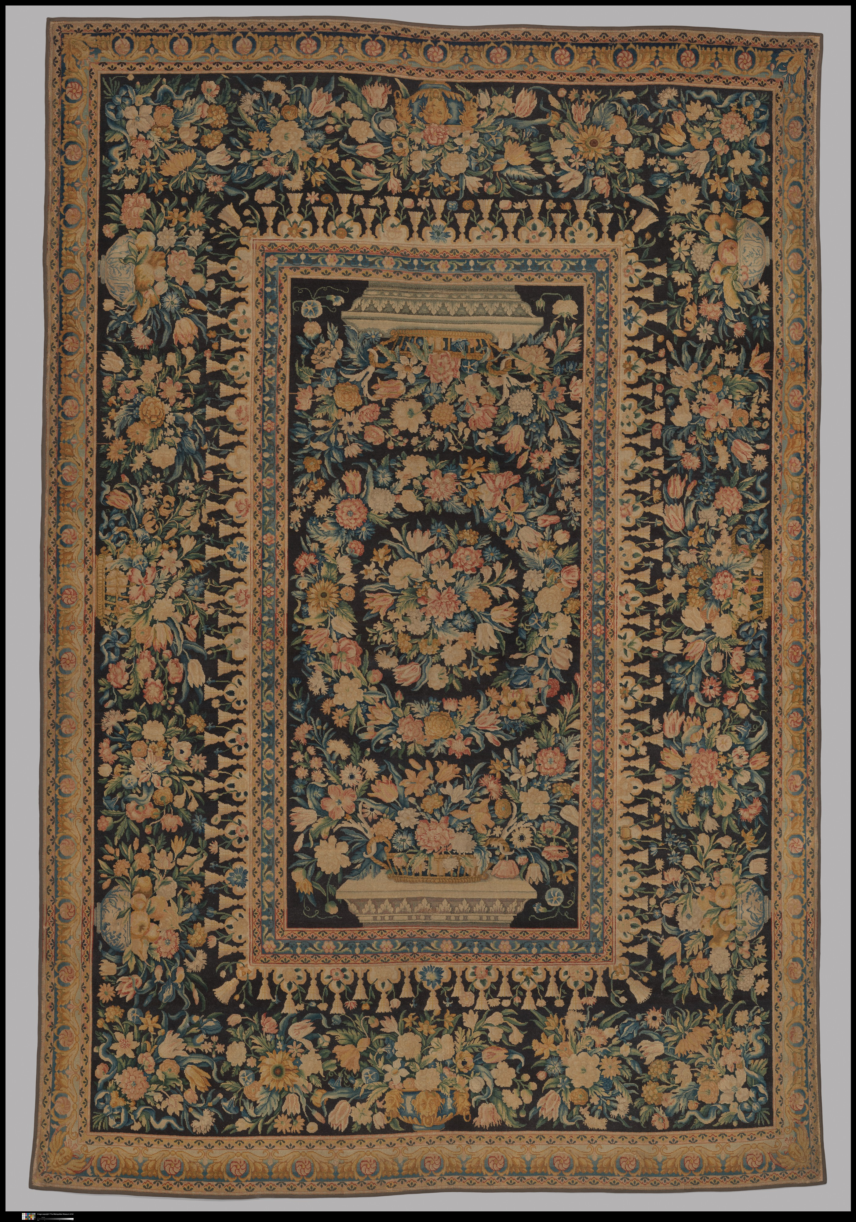 Savonnerie Manufactory Carpet Tapis French Paris The Met