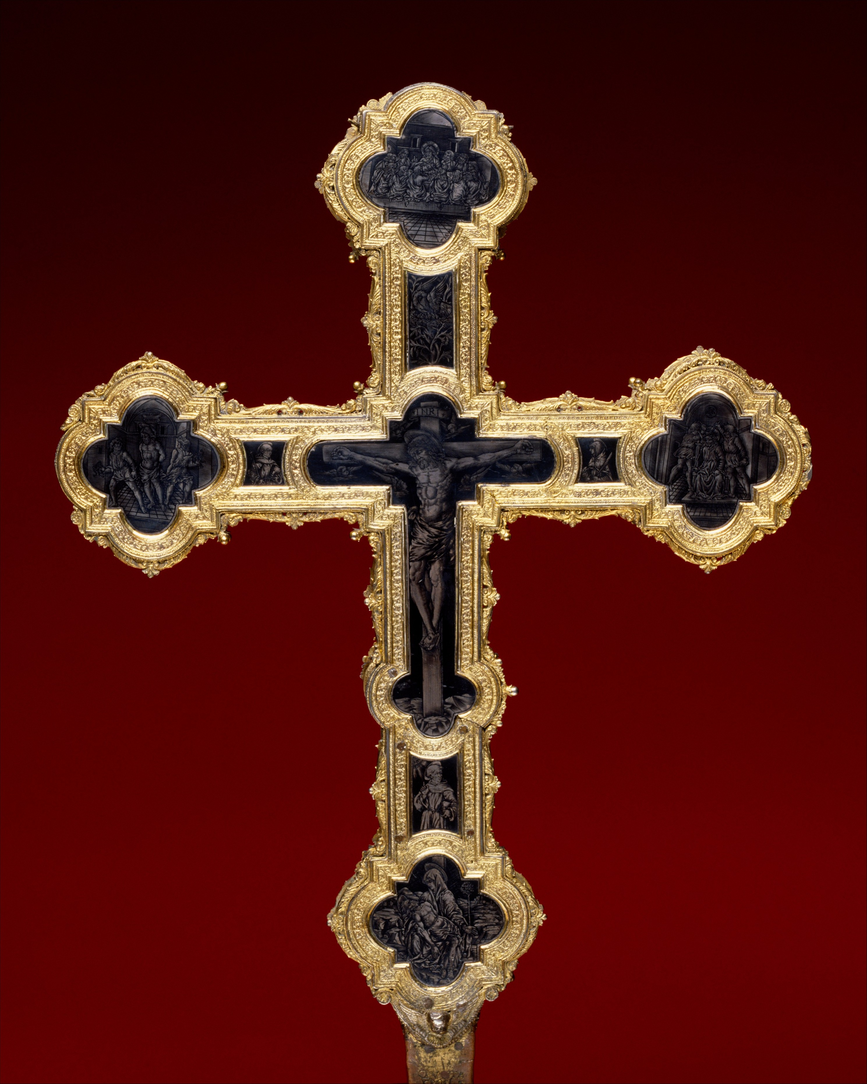 processional cross italian florence the met