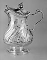 Mustard pot or milk pot, Jean-Baptiste-François Chéret (1728, master 1759, recorded up to 1791), Silver, French, Paris