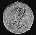 The International Exhibition of Electrical Apparatus, Paris, 1881, Medalist: Louis-Oscar Roty (French, Paris 1846–1911 Paris), Bronze, struck, silvered, French