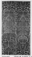Panel, Silk, hemp (ground weft), Italian