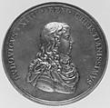 Louis XIV, Medalist: Michel Molart (French, Dieppe 1641–1713 Dieppe), Bronze, French