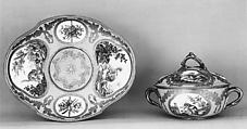 Tray, Sèvres Manufactory (French, 1740–present), Soft-paste porcelain, French, Sèvres
