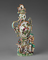 Vase (one of a pair), Chelsea Porcelain Manufactory (British, 1745–1784, Gold Anchor Period, 1759–69), Soft-paste porcelain, British, Chelsea