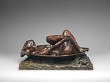 The Tub, Edgar Degas (French, Paris 1834–1917 Paris), Bronze, French