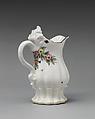 Cream jug, Chelsea Porcelain Manufactory (British, 1745–1784), Soft-paste porcelain, British, Chelsea