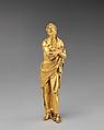 Prisoner, Gilt bronze, Italian, probably Rome