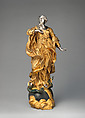 Virgin of the Immaculate Conception, Probably after a model by Lorenzo Vaccaro (Italian, 1653–1706), Gilt bronze, silver, partly polychrome, Italian, Naples