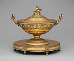 Tureen, Charles Percier (French, Paris 1764–1838 Paris), Silver gilt, French, Paris