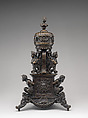 Incense burner, Bronze, with dark brown lacquer patina, Northern Italian, probably Padua