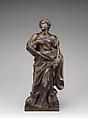 Saint Agnes, After a model by Gian Lorenzo Bernini (Italian, Naples 1598–1680 Rome), Bronze, Italian, Rome