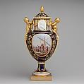 Vase with cover (Vase Paris enfants), Sèvres Manufactory (French, 1740–present), Soft-paste porcelain, French, Sèvres