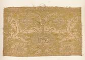 Fragment, Silk, metal thread, Italian or Spanish