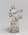 The Blessed Catherine, After an original by Giacomo Serpotta (1656–1732), Silver, Italian, Palermo