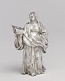 Saint Felicity, After an original by Giacomo Serpotta (1656–1732), Silver, Italian, Palermo