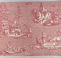 Swiss scenes, Oberkampf Manufactory (French, active 1760–1843), Cotton, French, Jouy-en-Josas
