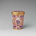 Étui, Vienna, Hard-paste porcelain, gold, Austrian, Vienna