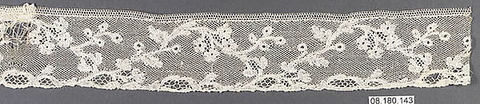 Piece, Bobbin lace, Flemish, Mechlin