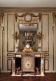Boiserie from the Hôtel de Cabris, Grasse, Carved, painted, and gilded oak, French, Paris
