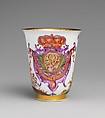 Beaker, Meissen Manufactory (German, 1710–present), Hard-paste porcelain, German, Meissen