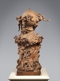 Model for a Proposed Monument to Commemorate the Invention of the Balloon, Clodion (Claude Michel) (French, Nancy 1738–1814 Paris), Terracotta, French, Paris