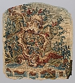 Rocaille cartouches with flowers, After designs by Pierre Edmé Babel (French, Paris 1720–1775 Paris), Wool, silk (20-22 warps per inch, 8 per cm.), French, probably Beauvais