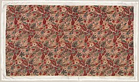 Piece, Probably Oberkampf Manufactory (French, active 1760–1843), Cotton and linen, French, probably Jouy-en-Josas