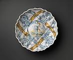 "Bowl in ""Faenza white"" maiolica, Probably workshop of Leonardo Bettisi, known as Don Pino (Italian, active Faenza, from 1566–ca. 1589), Maiolica (tin-glazed earthenware), Italian, Faenza"