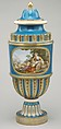 Vase (vase cannelés à bandeau) (one of a pair), Sèvres Manufactory (French, 1740–present), Soft-paste porcelain, French, Sèvres