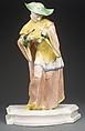 Chinese man, Nymphenburg Porcelain Manufactory (German, 1747–present), Hard-paste porcelain, German, Nymphenburg