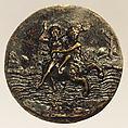 Nessus Abducting Dejanira, Andrea Briosco, called Riccio (Italian, Trent 1470–1532 Padua), Bronze, Italian