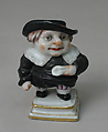 Dwarf (one of three), Doccia Porcelain Manufactory (Italian, 1737–1896), Soft-paste porcelain, Italian, Florence