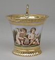 Cup (tasse Jasmin), part of Breakfast Service (déjeuner), Sèvres Manufactory (French, 1740–present), Hard-paste porcelain, silver gilt, French, Sèvres